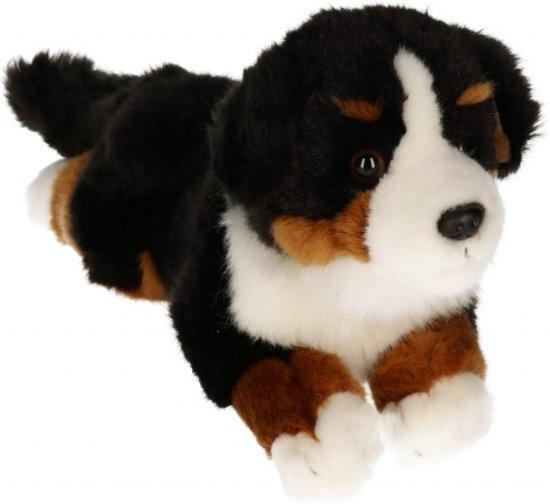 Knuffel hond Berner Sennen pluche 26 cm