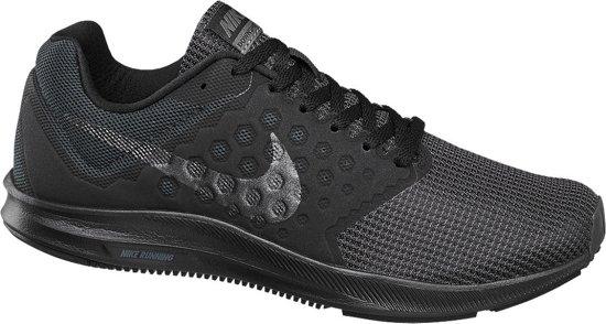 ea1fcf4e9c5 Nike Downshifter 7 Hardloopschoenen - Maat 40 - Vrouwen - zwart/grijs