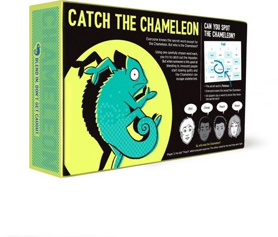 The Chameleon Spel - Blend In Don't Get Caught - Engelstalig