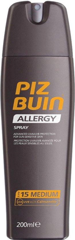 Piz Buin Allergy Zonnebrandspray - SPF 15 - 200 ml