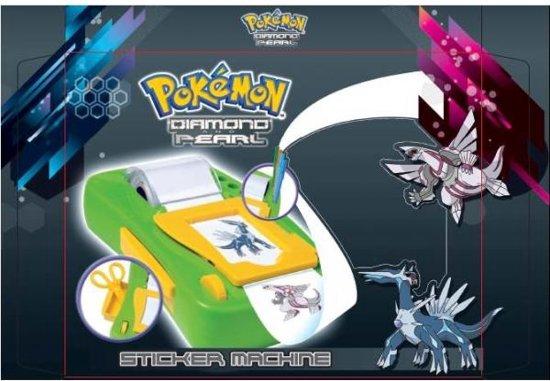 navulling stickermachine Pokemon