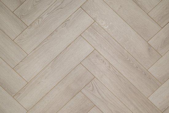 Wit Eiken Laminaat : Bol.com floer visgraat laminaat vloer vergrijsd eiken 64 x 14 3