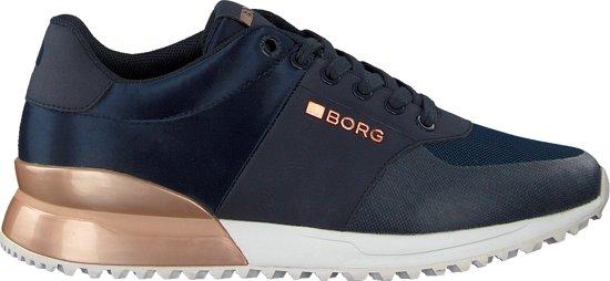 64295db4f53 bol.com | Bjorn Borg Dames Sneakers R200 Low Sat - Blauw - Maat 41