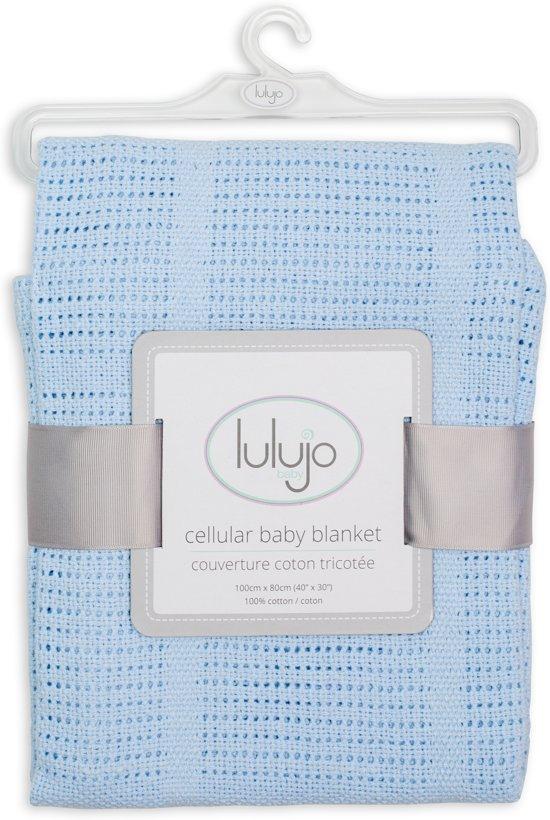 Lulujo Cellular Blanket - Blue