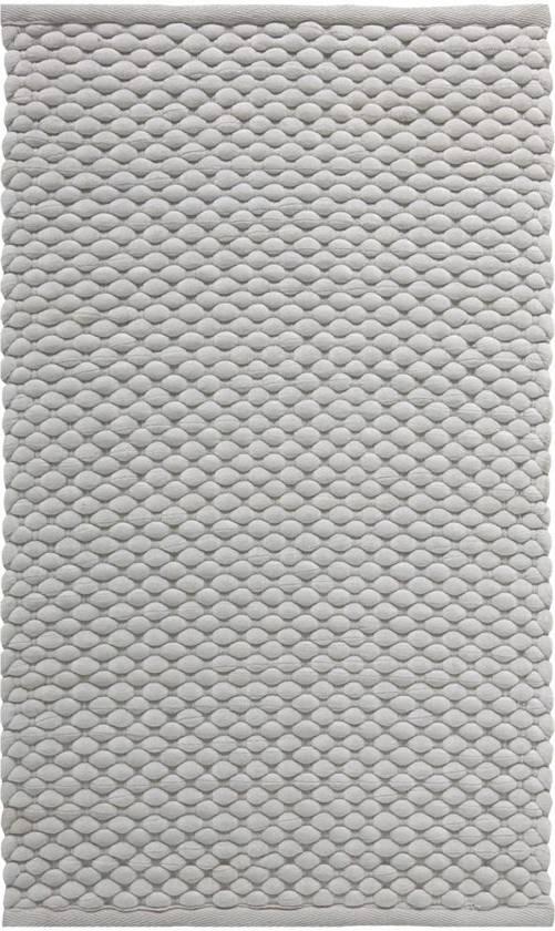 Aquanova Maks - Badmat - 70x120 cm - Zilvergrijs