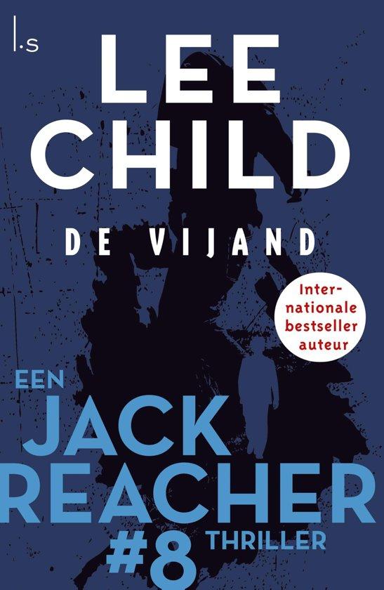 Boekomslag voor Jack Reacher 8 - De vijand
