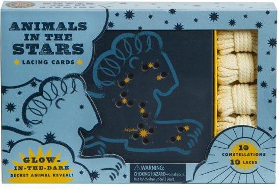 Afbeelding van het spel Animals in the Stars Lacing Cards