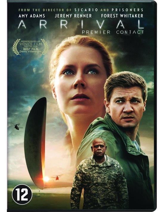 DVD cover van Arrival