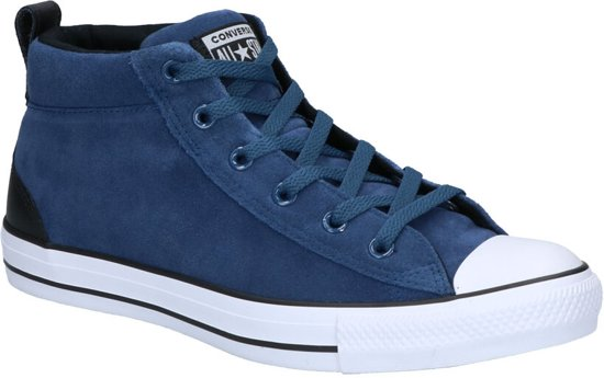 2d5c3430e7a bol.com   Converse Chuck Taylor All Star Street Blauwe Sneakers