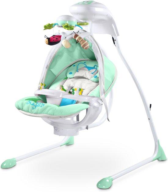 Baby Elektrische Schommelstoel.Baby Schommelstoel Caretero Bugies Mint Geschikt Voor Newborns