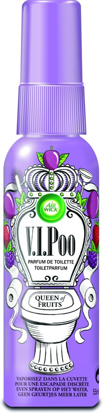 Airwick V.I.Poo Toilet Perfume 55ml - Queen of Fruits