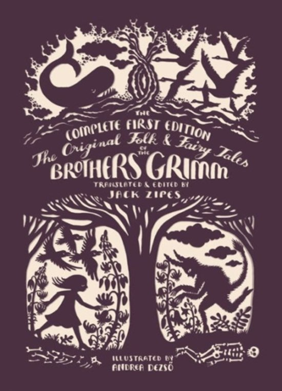 Boek cover The Original Folk and Fairy Tales of the Brothers Grimm van andrea dezso (Paperback)
