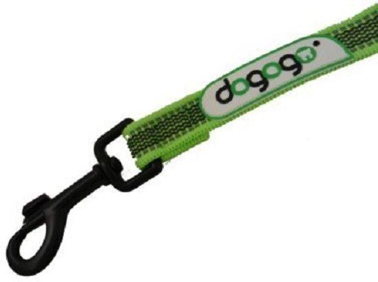 Dogogo anti slip riem zonder handvat, groen, 7 m x 14 mm