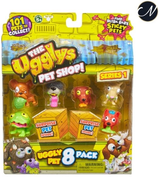 The Ugglys Pet Shop 8pack