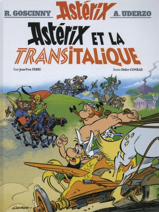 Boek cover Asterix et la Transitalique van Jean-Yves Ferri (Hardcover)