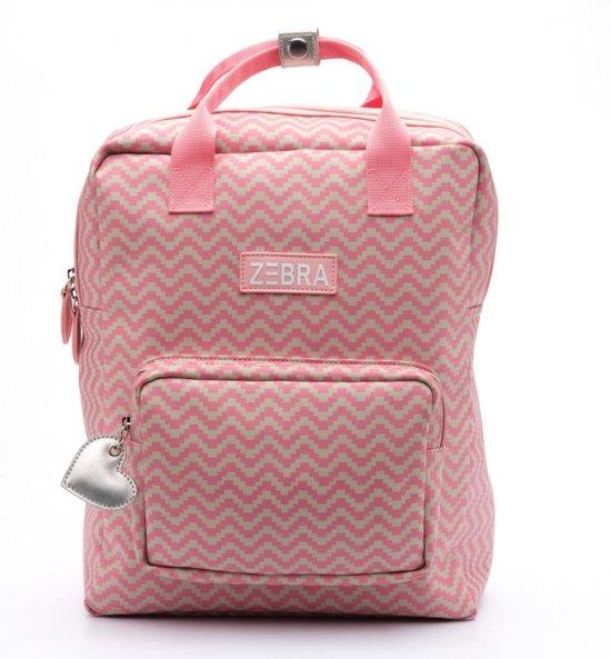 2b23033f078 bol.com | Zebra Trends Rugzak Large Zigzag Pink