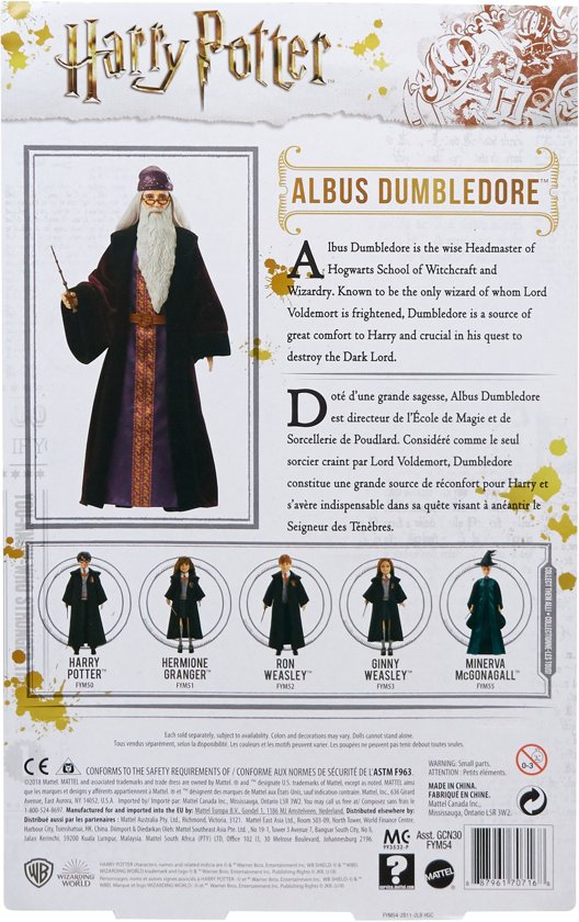 Harry Potter Albus Perkamentus Pop - 30 cm