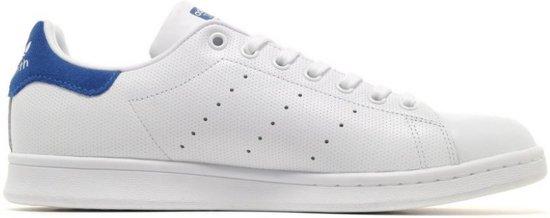 stan smith adidas wit en blauw cheap 6888f 0e494