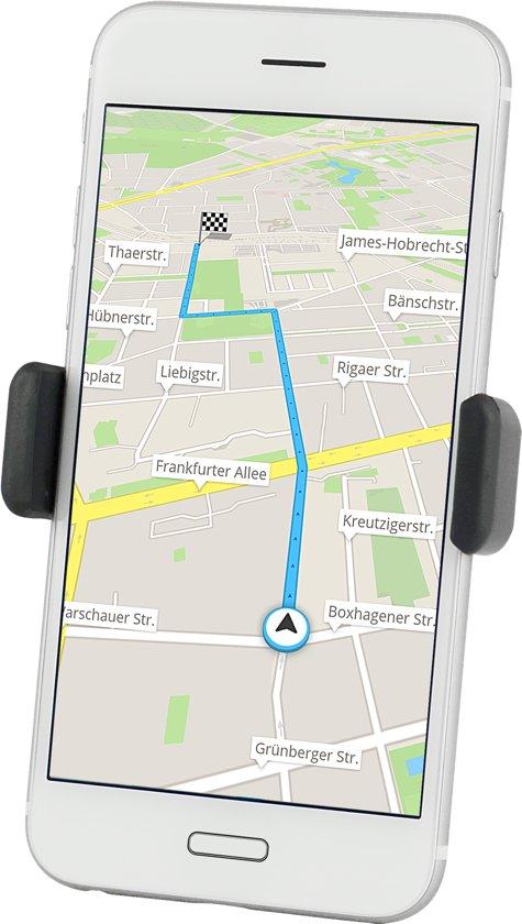 Azuri telefoonhouder voor in de auto -Universeel - Zwart
