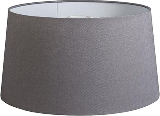 QAZQA 40cm R DS - Lampenkap - Ø 400 mm - grijs