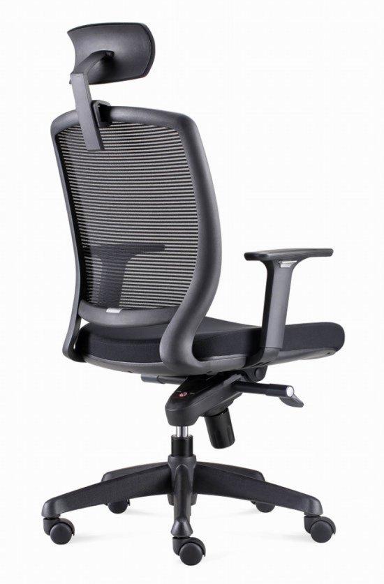 Bureaustoel Met Hoofdsteun.Ergonomische Bureaustoel Met Hoofdsteun Model Bens 820dh