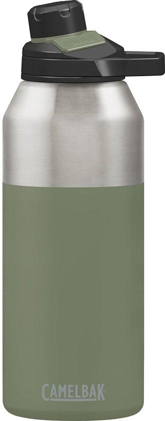 0e7a4e583e7 CamelBak Chute Mag Stainless Vacuum Insulated-Iso Drinkfles - 1,2 L - Olijf