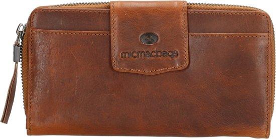 c6ac06fe78a bol.com | Micmacbags Colorado Ritsportemonnee - Dames - Leer - Cognac
