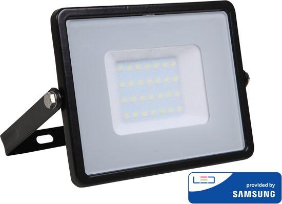 Samsung by V-tac VT-50-B LED schijnwerper - 50 W - 4000 Lumen - 4000K - zwart