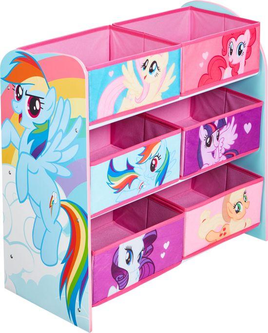 Opbergkast 6 vakken My Little Pony 64x30x60 cm