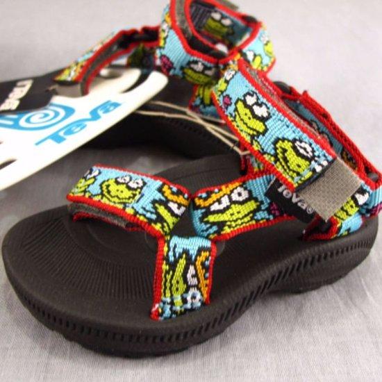 loopschoenen winkelen voor grote verscheidenheid aan stijlen bol.com | Teva Hurricane froggy kinder sandaal I Kikkerprint ...