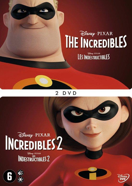 DVD cover van The Incredibles 1+2