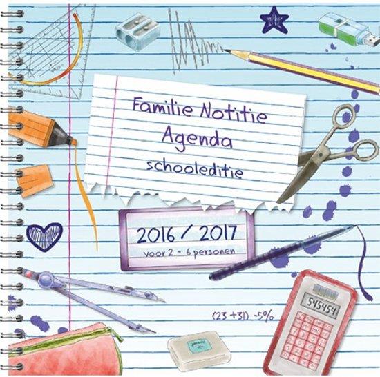 familie agenda schooljaar 2016 2017 schrijfgerij. Black Bedroom Furniture Sets. Home Design Ideas