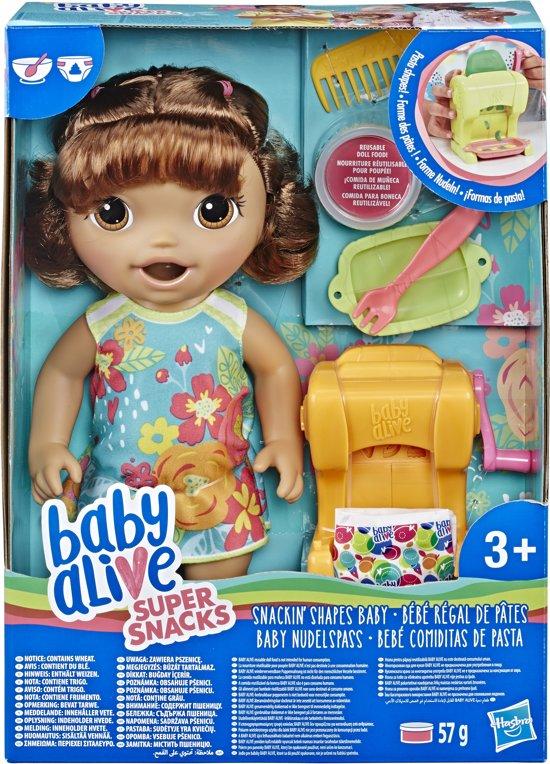 Baby Alive Snackin Pasta Baby Brunette