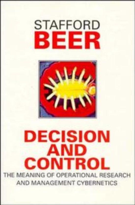 Afbeeldingsresultaat voor stafford beer decision and control