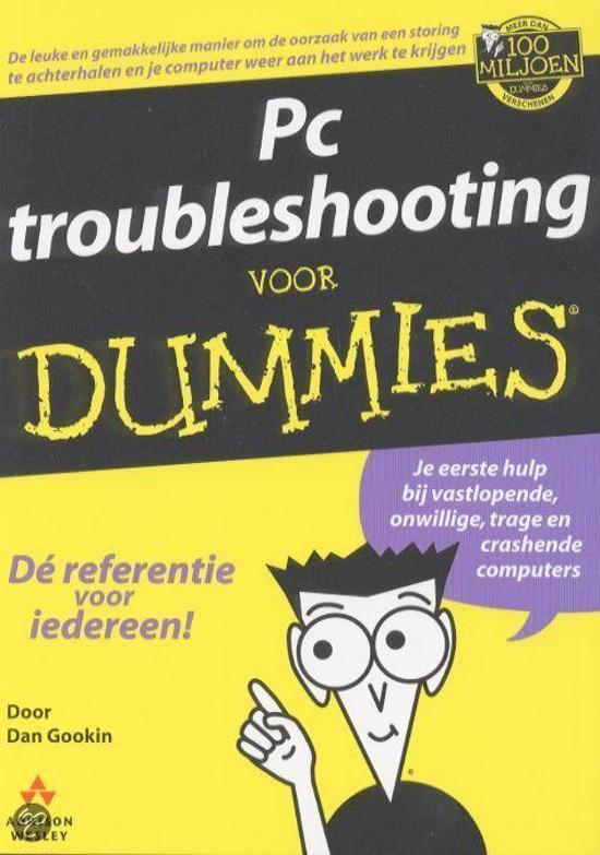 bol com pc troubleshooting voor dummies, d gookin 9789043006736 Planning for Dummies pc troubleshooting voor dummies