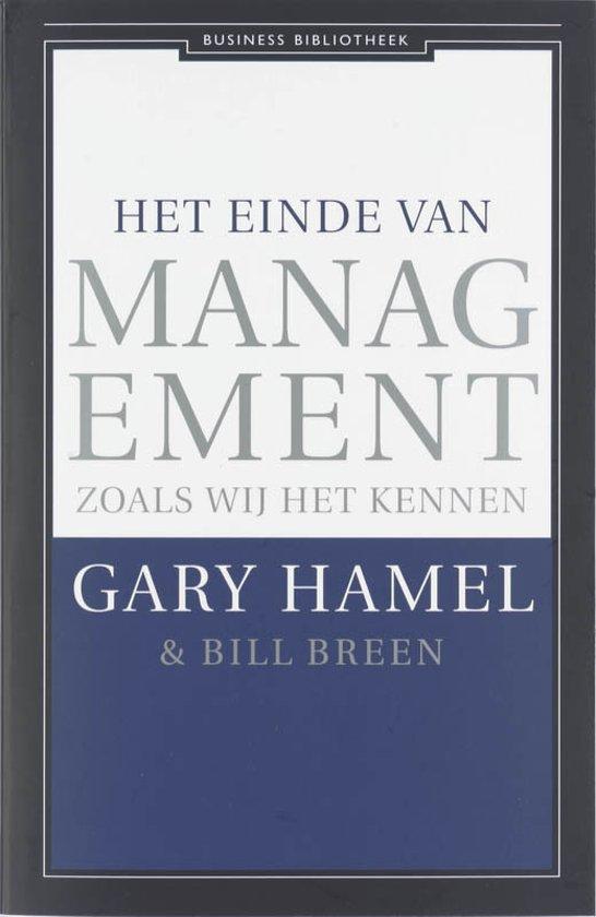 Het einde van management zoals wij het kennen
