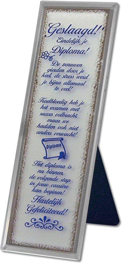 Bolcom Decoratieve Spiegel Met Tekst Voor De Geslaagde