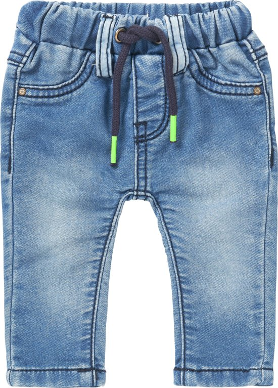 Noppies Jongens Broek - Light Stone Wash - Maat 68