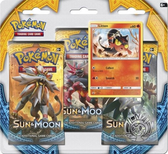 Afbeelding van het spel Pokémon blister Sun & Moon Litten