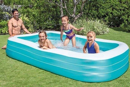 Opblaasbaar zwembad 'Family Pool Large' (met reparatiesetje)