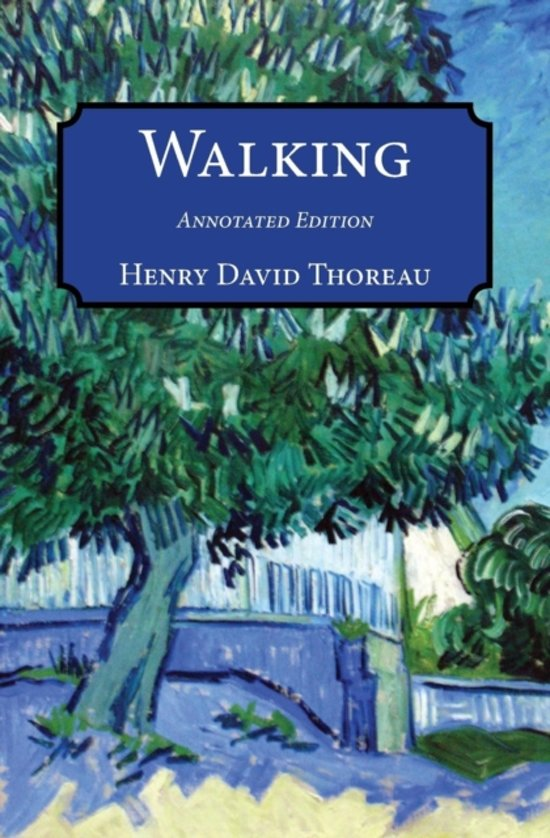 thoreau essay on walking Sample thesis statements for presentations, papers in both walking and wild apples, two of his last essays, thoreau provided profound insight into the.
