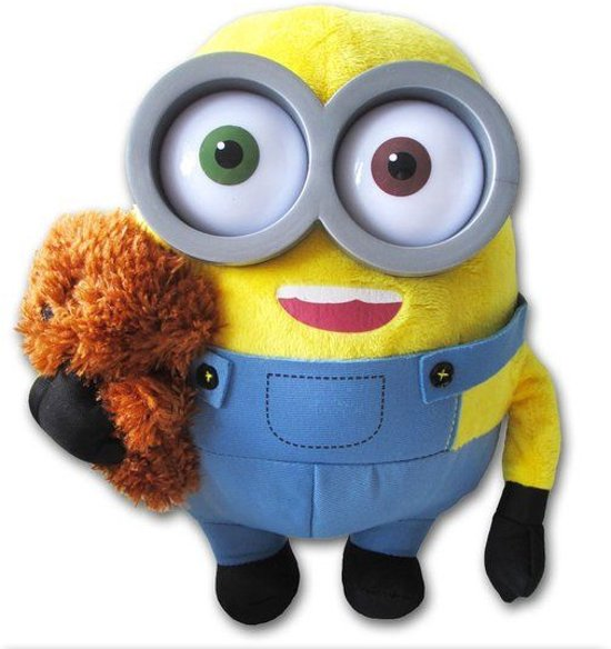 Despicable Me Minion knuffel Bob met beer