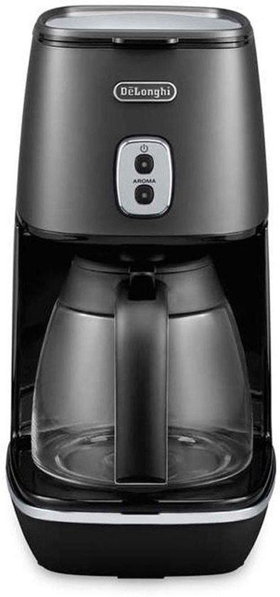De'Longhi Distinta ICMI 211.BK Elegance - Koffiezetapparaat - Zwart