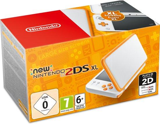 New Nintendo 2DS XL console - Wit/Oranje kopen