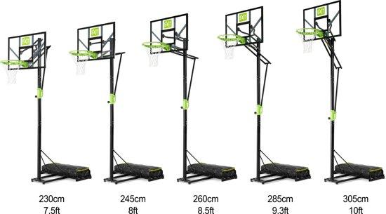 EXIT Polestar Verplaatsbare Basketbalring