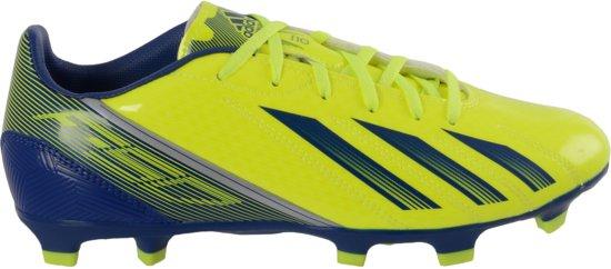 adidas F10 TRX FG  - Voetbalschoenen - Mannen - Maat 42 2/3 - Geel/Blauw