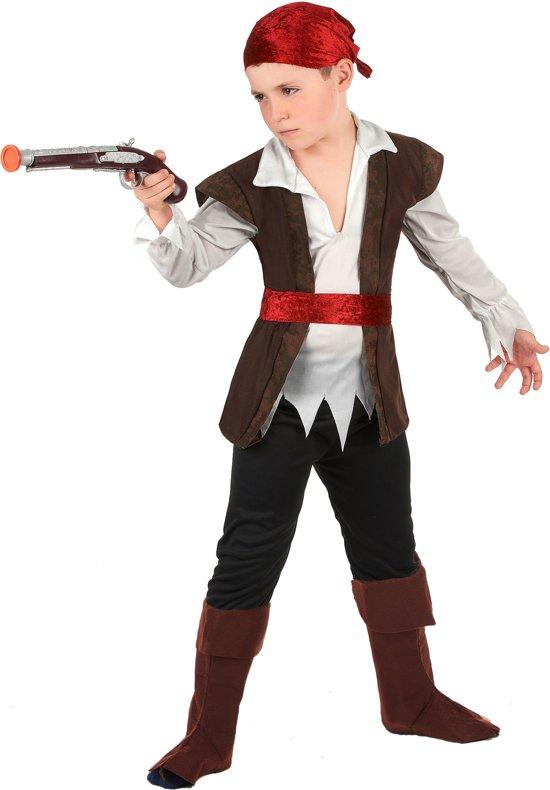 Piraat van de zeven zeeën outfit voor jongens - Verkleedkleding