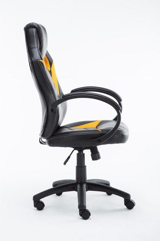 Clp Magnus - Bureaustoel - Kunstleer - Geel