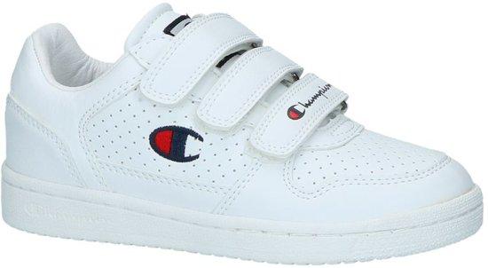 3f780646c16 Witte Sneakers met Velcro Champion Chicago Basket