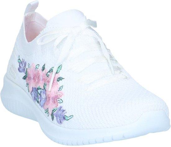 Skechers Sneakers on Slip Witte Ultra Flex ZqwxYA